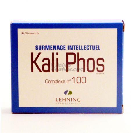 Kali Phos complejos L100 Burnout Intelectual Lehning 60 Tabletas