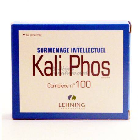 Kali Phos Complex L100 Burnout Intellectual Lehning 60 Tablets
