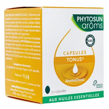 胶囊Phytosun紧张Aromadoses