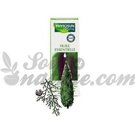 Cupressus sempervirens L. siempreverde oli essencial de xiprer