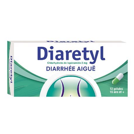 DIARETYL 2MG BOX OF 12 CAPSULES