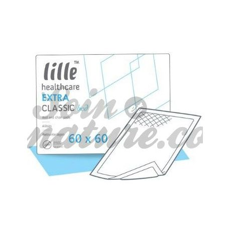 Alèses de protection LIT SUPER 60X60 65G 30 SACHETS