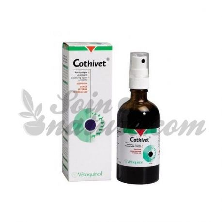 COTHIVET SPRAY CICATRISANT VETERINAIRE ANTISEPTIQUE VETOQUINOL 30ML