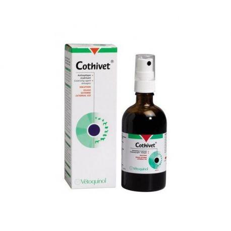 COTHIVET VETERINAIRE HEALING SPRAY ANTISEPTIC 100ML VETOQUINOL