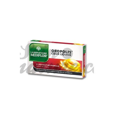 Oropolis COR 16 PASTILLES sucre líquid