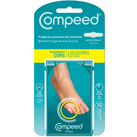 COMPEED HCS CORS DRESSING BOX 10