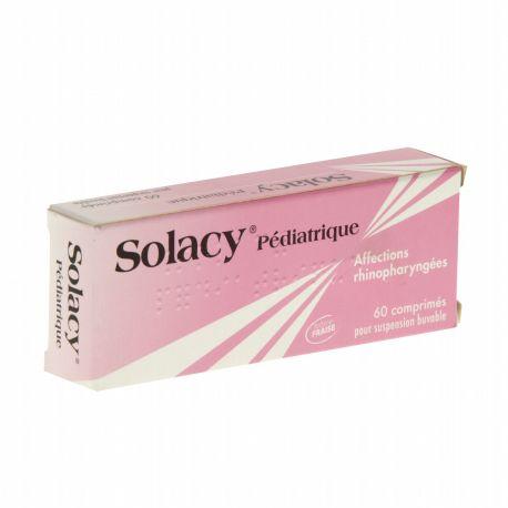 SOLACY PEDIATRIQUE 60 comprimés pour solution buvable