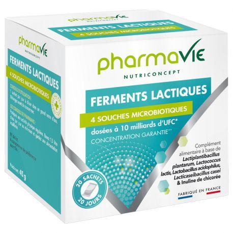 PHARMAVIE COMPLEX FERMENTS LACTIQUES 20 SACHETS