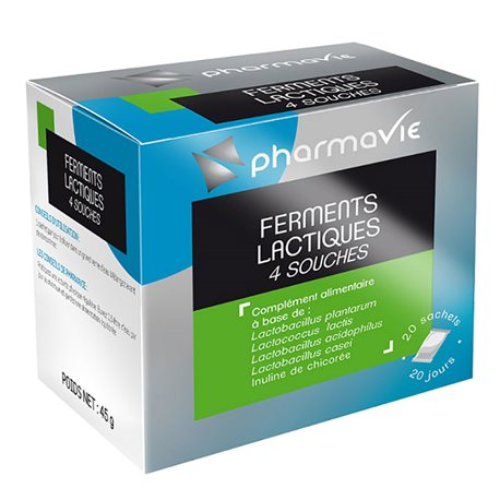 Pharmavie اللبنيك مجمع تتخمر 20 BAGS