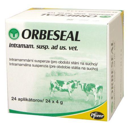 Orbeseal GADO intramamárias BOX DE 24 SERINGAS 4G