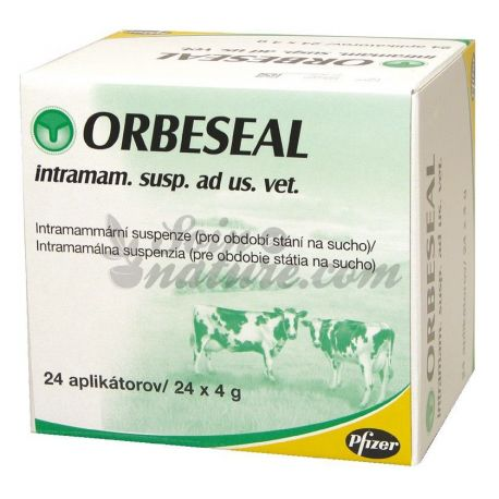 Orbeseal intramammary CATTLE BOX OF 24 NEEDLE 4G
