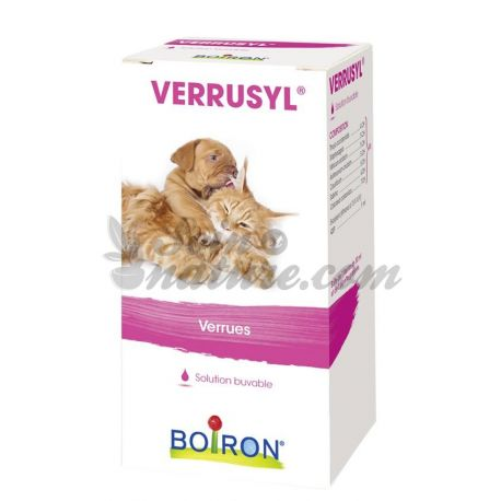 VERRUSYL BOIRON PA VETERINAIRE HOMEOPATHIE GOUTTE BUVABLE FLACON 30ML