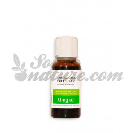 MACERATED BOURGEON GINKGO BILOBA BIO 30ML gemmotherapy BIOGEMM