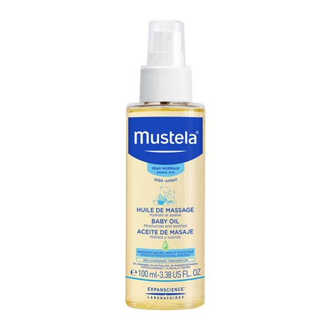 Mustela Baby Massage Oil Spray 110ml