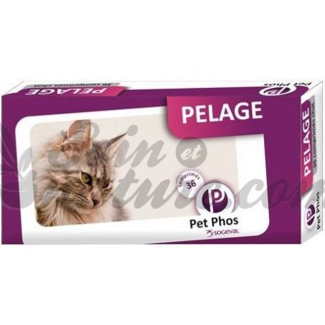 PET-PHOS COAT CHAT Felin 36 COMPRIMIDOS
