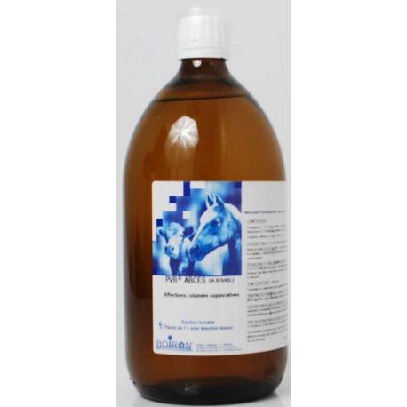 PVB abscessos GA ORAL SOLUTION garrafa de 1 L