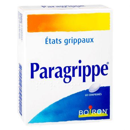 PARAGRIPPE Homöopathie Boiron 60 Tabletten