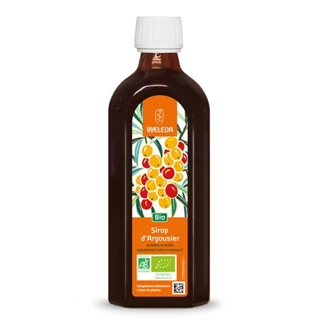 ARGOUSIER SYRUP BOTTLE 200ML WELEDA