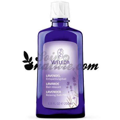 WELEDA banho relaxante LAVANDA 200ML
