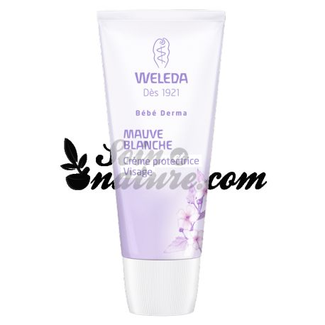 Weleda Bébé Derma Crème Visage Mauve blanche 50ml
