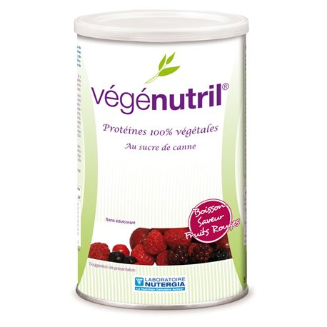 RED fruitdrank VÉGÉNUTRIL NUTERGIA 300G