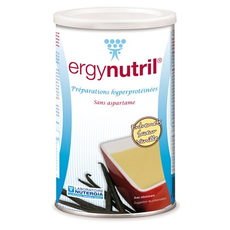 ERGYNUTRIL ENTREMETS NUTERGIA VANILLA POLVERE POT 300G