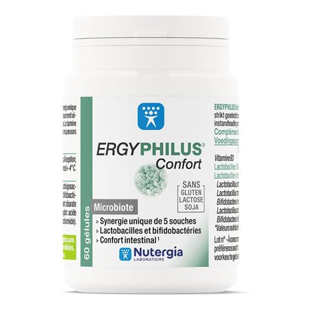 NUTERGIA ERGYPHILUS COMFORT 60 Kapseln