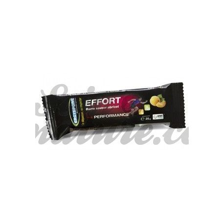 Ergysport EFFORT BAR 25G APRICOT