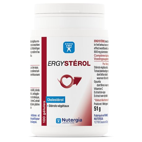 ERGYSTEROL NUTERGIA 100 GÉLULES