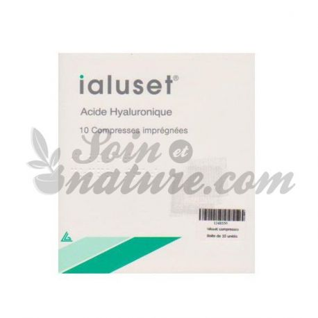 Ialuset 10 Impregnated compresses