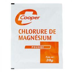 CHLORURE DE MAGNESIUM COOPER 20gr