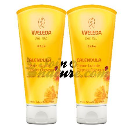 Weleda Baby Calendula Cream Wash Hair and Body 200ml