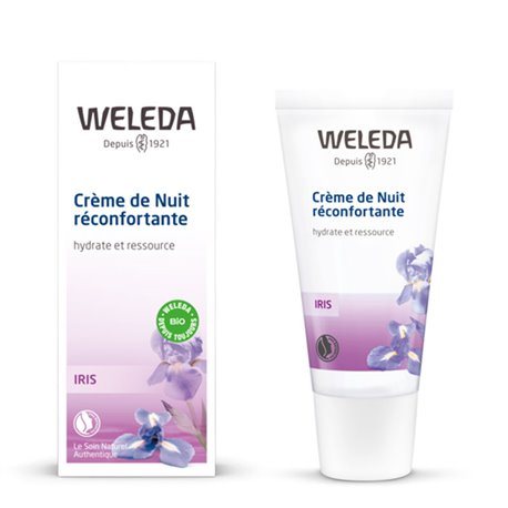 WELEDA CREAM NIGHT CREAM 30ML IRIS