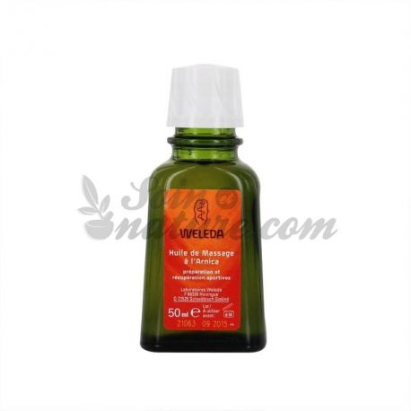 WELEDA ARNICA MASSAGE olie 50ml