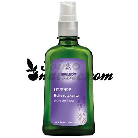 WELEDA OIL RELAXING LAVENDER 100ML