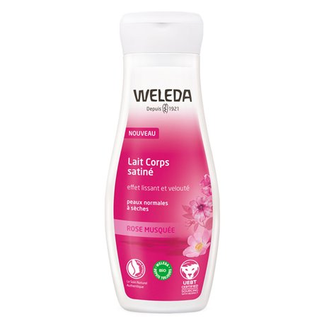 WELEDA ROSE BUTTERNUT SILKY MILK 200ML