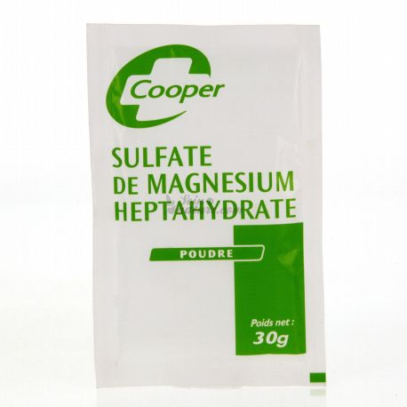 magnesiumsulfaat zoutpoeder Epsom