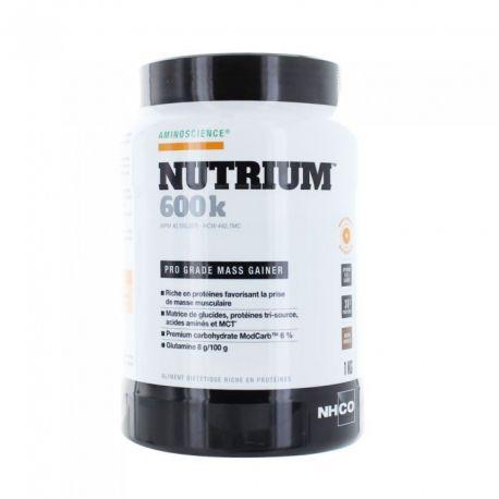 NHCO Nutrium 600K 1kg CHOCOLADE massa schieten