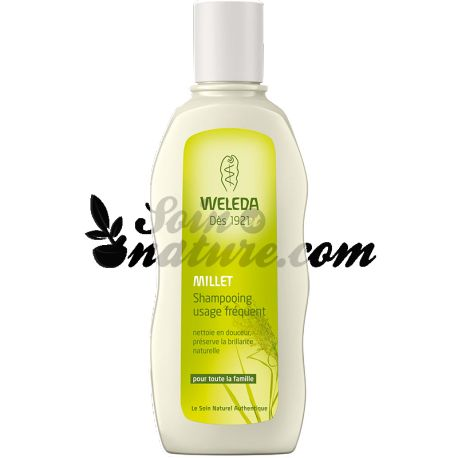 SHAMPOO FREQUENT USE 190ml WELEDA MILLET