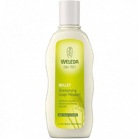 Shampoo häufigen Gebrauch 190ml WELEDA HIRSE