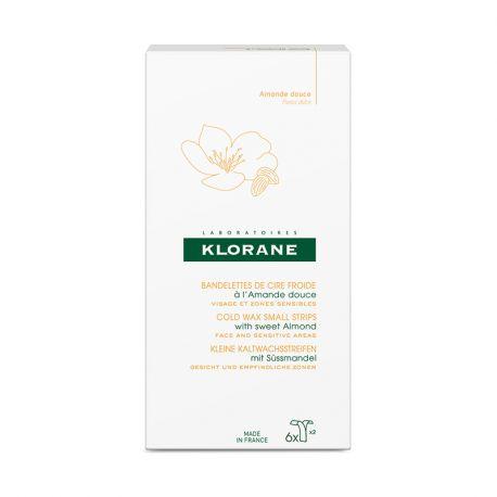 Klorane cara cera fría con tiras dulces de almendra 6