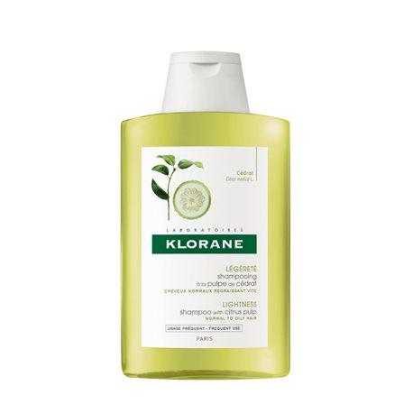 KLORANE shampooing à la Pulpe de Cédrat nouvelle formule 200ML
