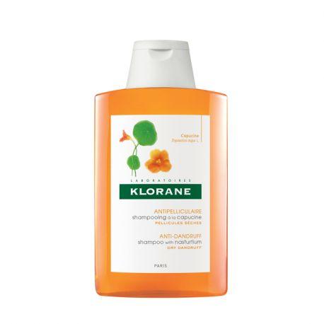 KLORANE shampooing Antipelliculaire à l'extrait de Capucine 200ML