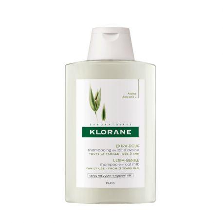 Klorane shampoo de aveia garrafa de leite 200ML