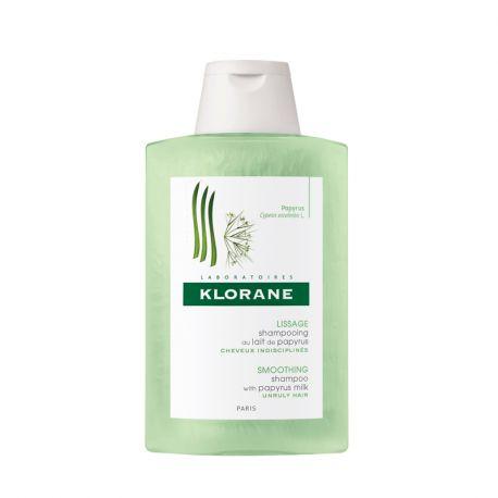 Klorane Shampoo com garrafa de papiro Leite 200ML