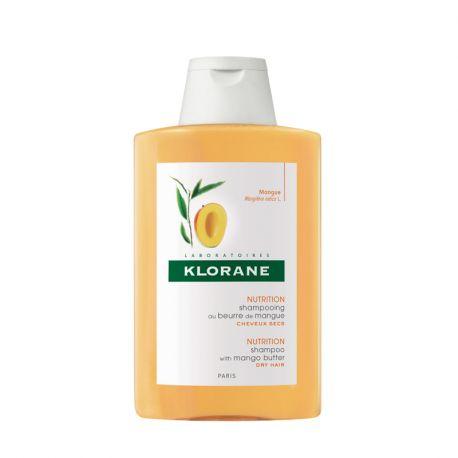 Klorane shampoo nutritivo com manteiga de manga garrafa 200ml