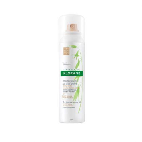 Klorane shampoo seco pulverizar a 150ml de leite de aveia manchados