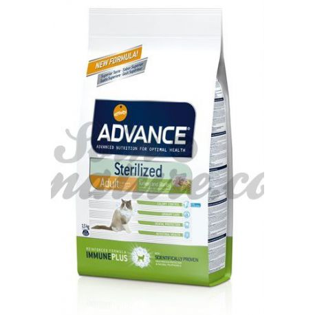 ADVANCE CAT sterilized TURKEY STERILIZED CATS BAG 3KG