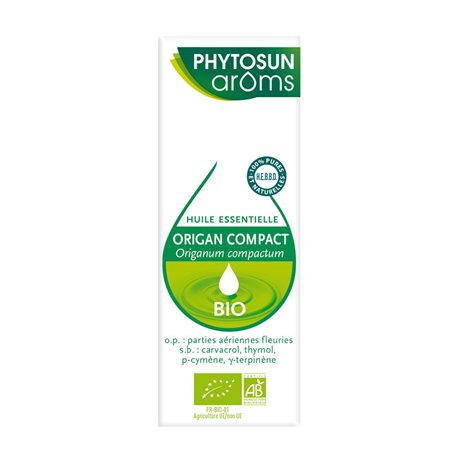 PHYTOSUN AROMS HUILE ESSENTIELLE Origan compact ORIGANUM COMPACTUM 10 ml