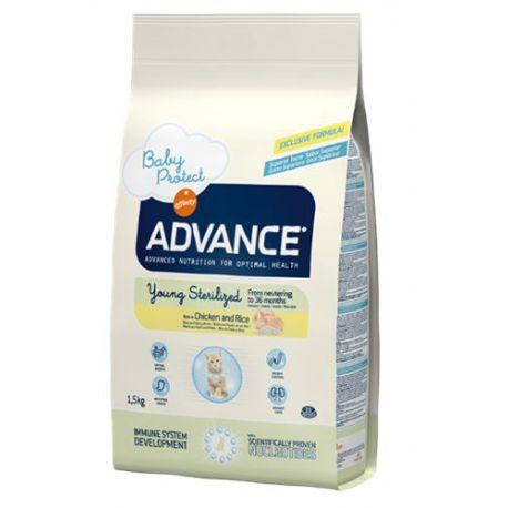 ADVANCE CHAT JOVEN esterilizado SAC 1,5 KG